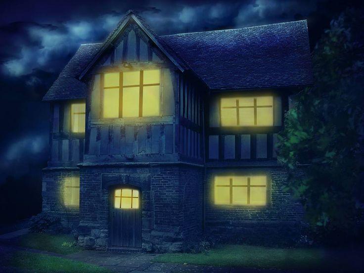 В этом уроке вы узнаете, как превратить обыкновенную фотографию дома в таинственную сцену, добавив драматичное освещение и слабые лучи света.