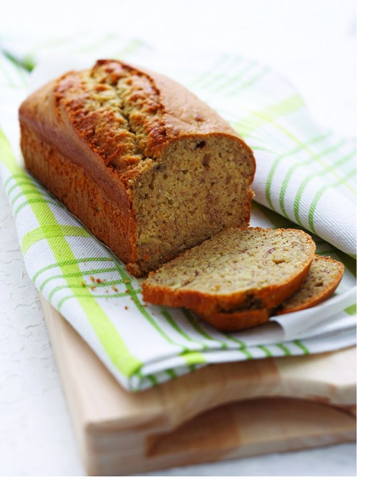 Banana and almond bread