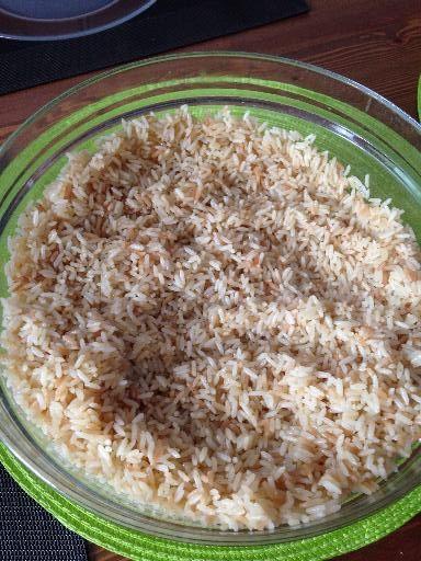 Riz pilaf - Recette de cuisine Marmiton : à épicer à volonté