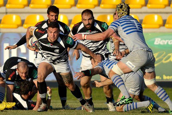 Zebre Rugby Vs Saracens 07/12/13- Photographs courtesy of Zebre Rugby - Foto VASINI (© 2013)
