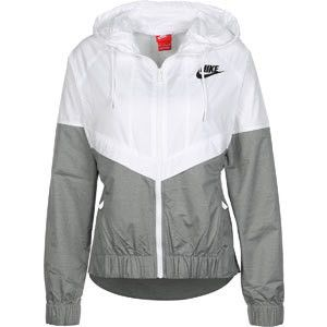Nike W Windbreaker weiß grau