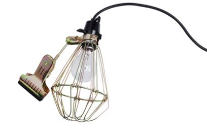 Industrial clamp lamp - Hay