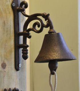 House2Home Antik Döküm Koleksiyon - Çiçek Kapı Çanı