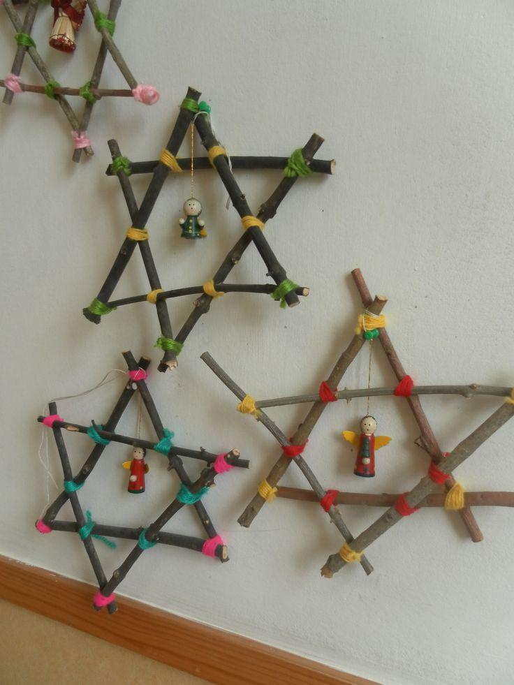 Pré-escolar, Natal No Jardim De Infância E Artesanato Para Crianças~ Decoracao Para Jardim De Infancia
