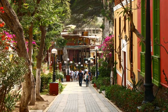 Lima's Barranco District is known for its cultural vibrancy and romantic charm. #lima #peru