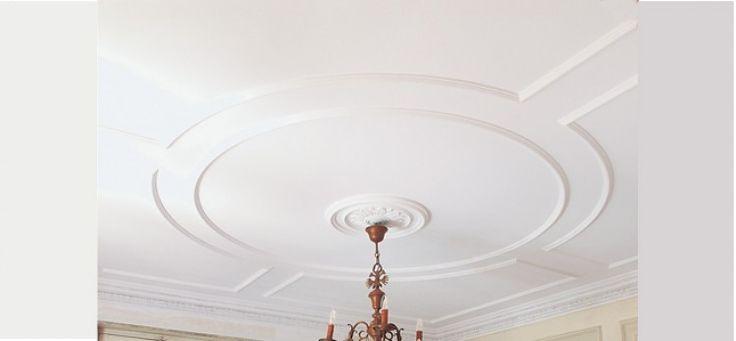 les 25 meilleures id es de la cat gorie moulure plafond sur pinterest moulures moulage de la. Black Bedroom Furniture Sets. Home Design Ideas
