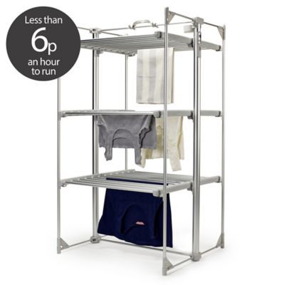Heated clothes horse aldi