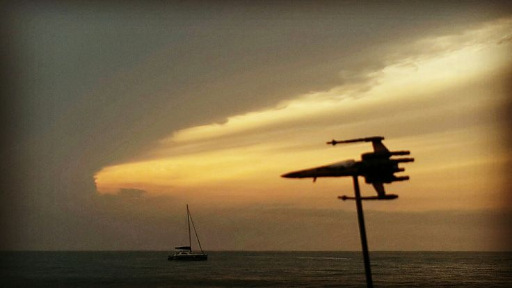 #toytrips my #starwars #xwing at dusk #rtb over #arugambay #srilanka #yooamigo  #ridetheworld with #yooamigo  Sign up online at: www.yooamigo.com   Download our Android app:    https://play.google.com/store/apps/details?id=com.youamigo.activity  Download our iOS app:           https://itunes.apple.com/us/app/yooamigo/id1140386908