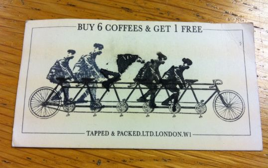 T&P loyalty card