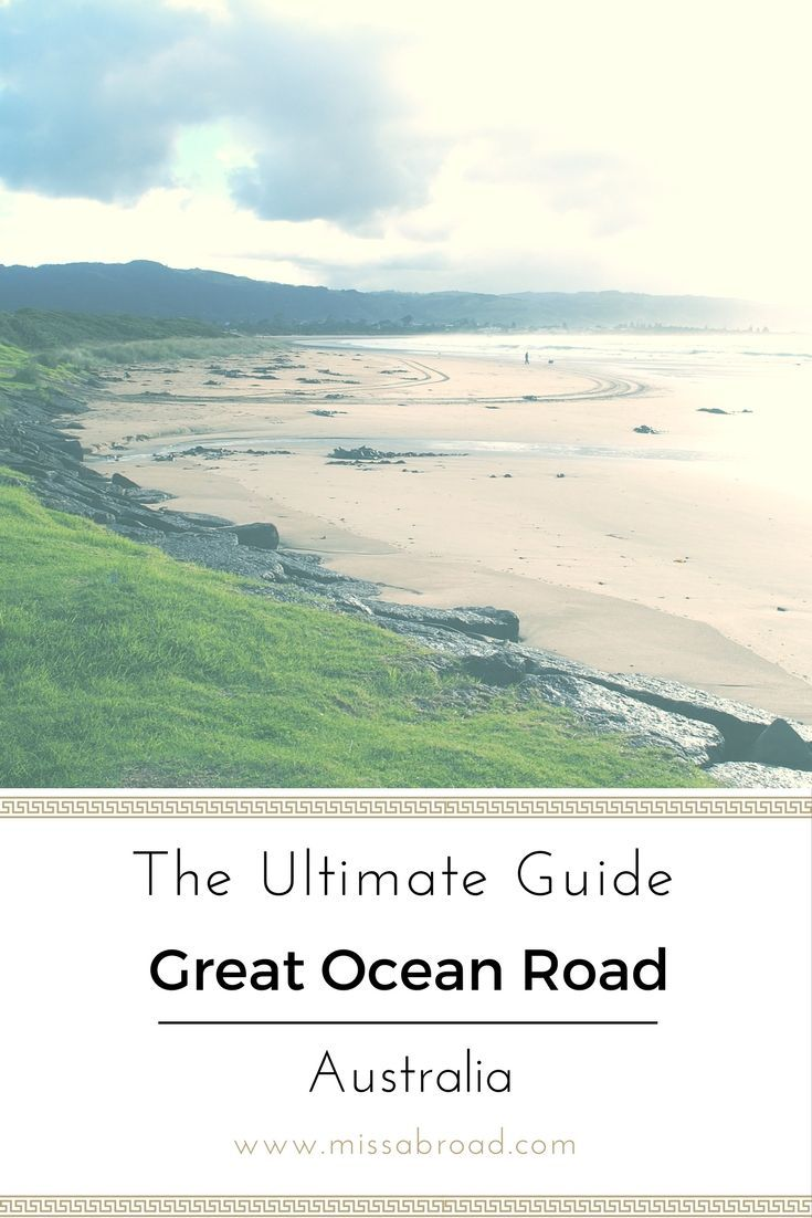Best Road Trips in the World: Great Ocean Drive in Australia #Melbourne #Itinerary #travel