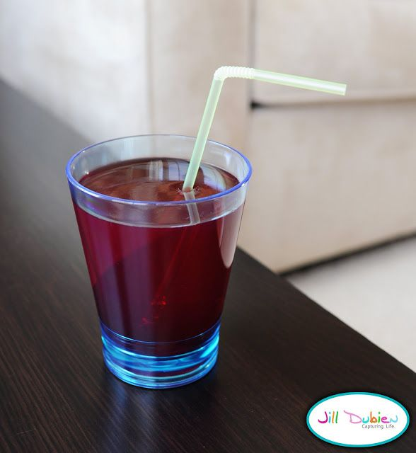 Serve up a glass of juice that is really Jell-o. | 31 Awesome April Fools' Day Pranks Your Kids Will Totally Fall For