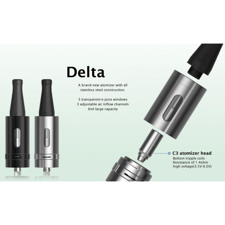 Delta 23 Joyetech atomizer with 6 ml capacity