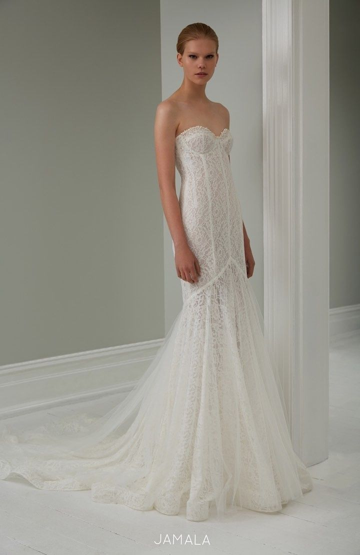2015 Steven Khalil Wedding Dress Collection : http://www.itakeyou.co.uk/wedding/steven-khalil-bridal-2015-collection/ #weddingdress:
