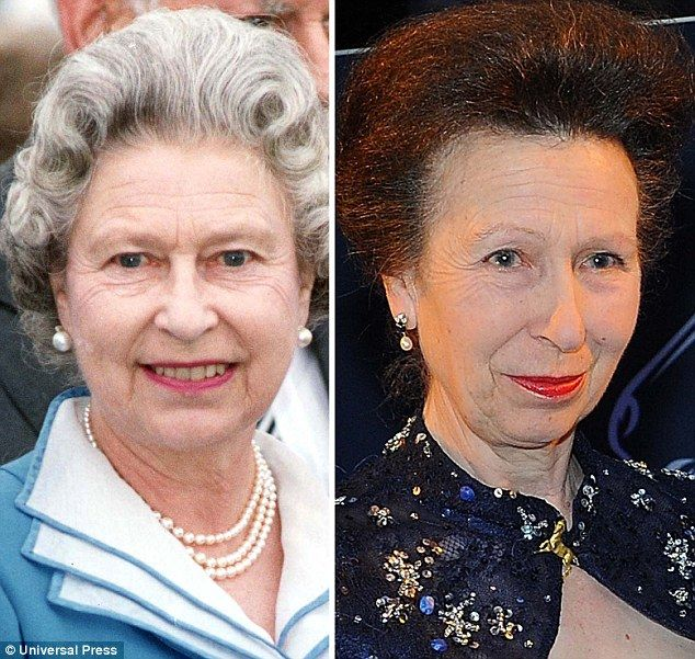 Majestic: The Queen looked sparkling despite 40 years on the throne, unlike the seemingly careworn Anne. AGE 66