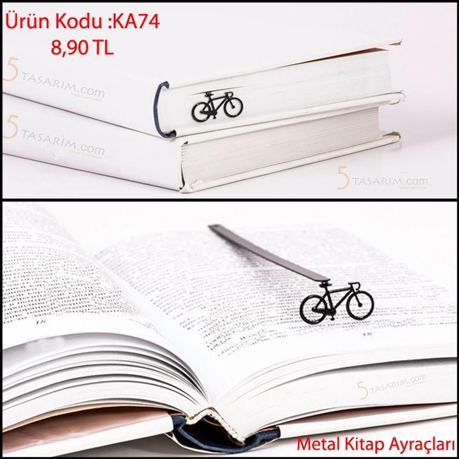 Hediyelik Bisiklet Kitap Ayracı modelleri