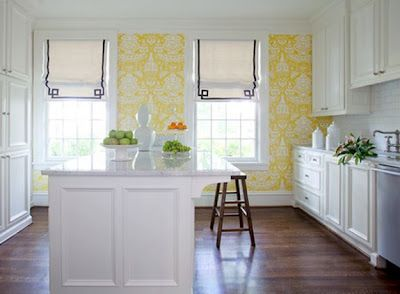Yellow Kitchen White Cabinets 55 best navy & yellow in the kitchen images on pinterest | kitchen