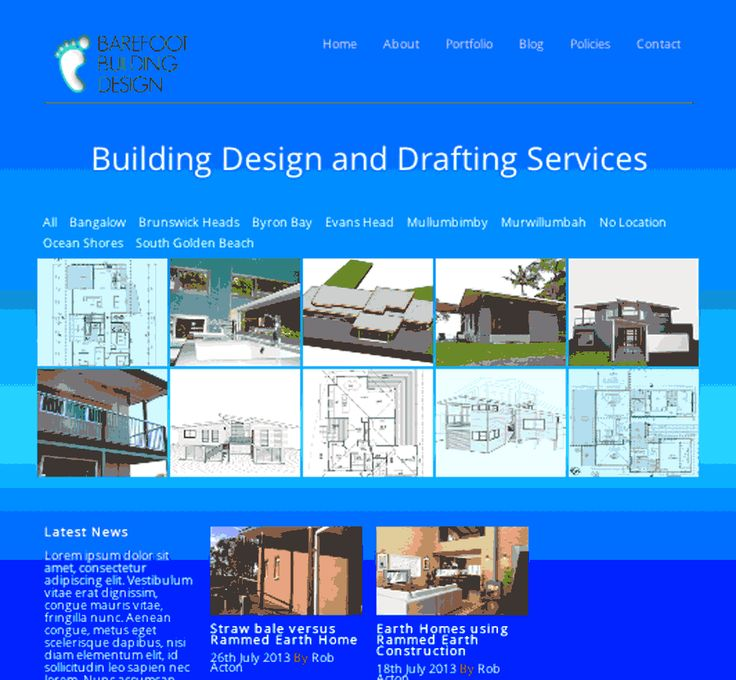 Barefoot Building Design and Drafting Company in Northern New South Wales Australia.  Website designed and developed by Wordpressit Web Development.