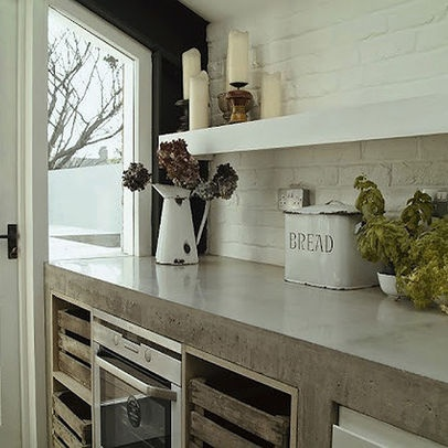 Concrete Indoors Design Ideas, Pictures, Remodel, and Decor - page 2
