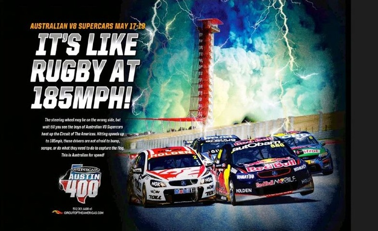 Circuit of the Americas Australian V8 Supercar Race