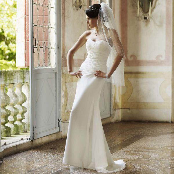 Robe de mariage bustier coeur Claire