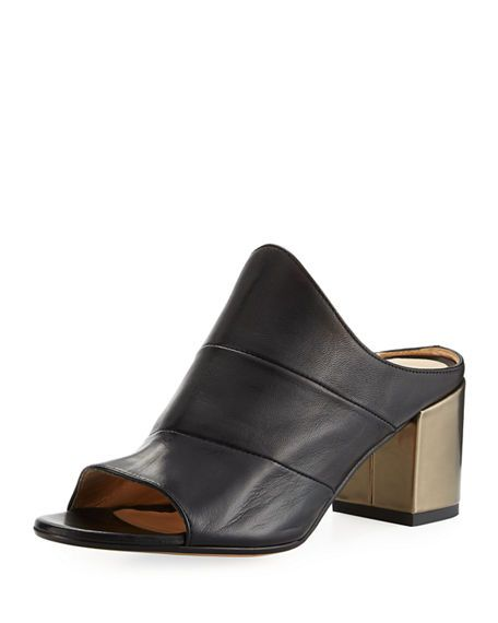 230ac5e35c5664 Losana Colorblock Heel Sandal