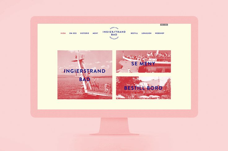 Fursetgruppen Restaurant Group – Website Designs on Behance
