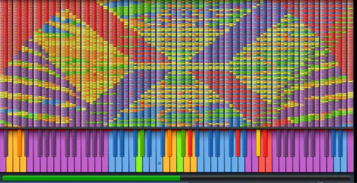 'Armageddon to Archeopterix and Icaria 3', A Ridiculously Complex MIDI Piano Composition