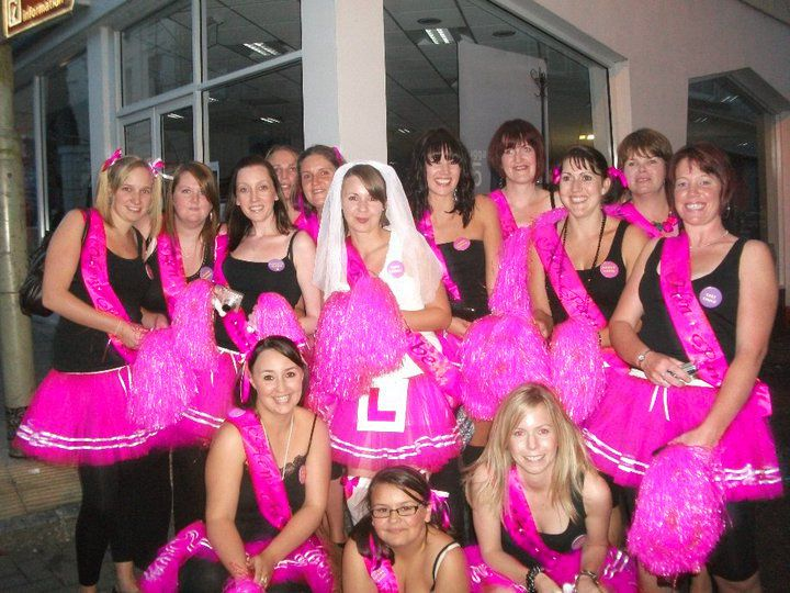 Unusual Hen Party Ideas Uk: Hen Party Theme CHEERLEADER! Www.tutufactory.co.uk