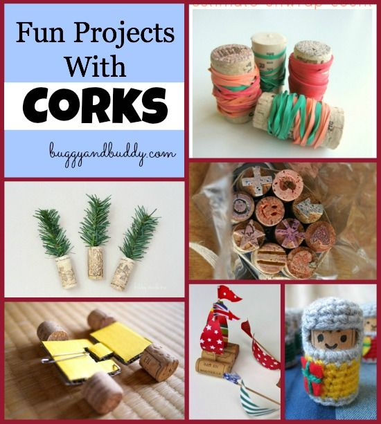 139 best images about craft corks on pinterest for Crafts to do with corks