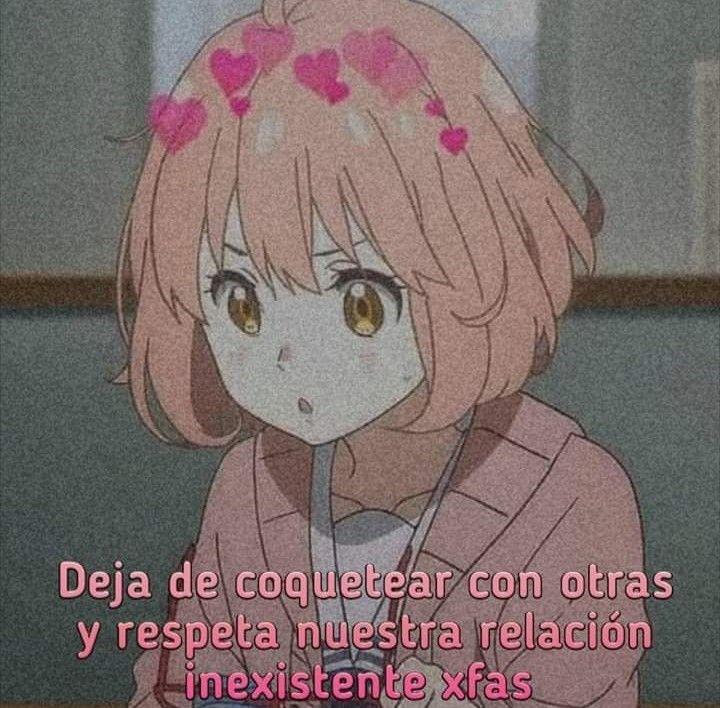 Pin De Ariana Moron En Weas V Frases Otakus Memes Romanticos Imagenes Anime Con Frases