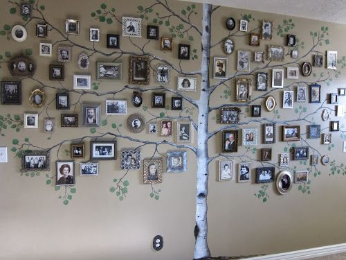 Family Tree Photo Wall best 25+ tree wall ideas on pinterest | tree wall painting, family