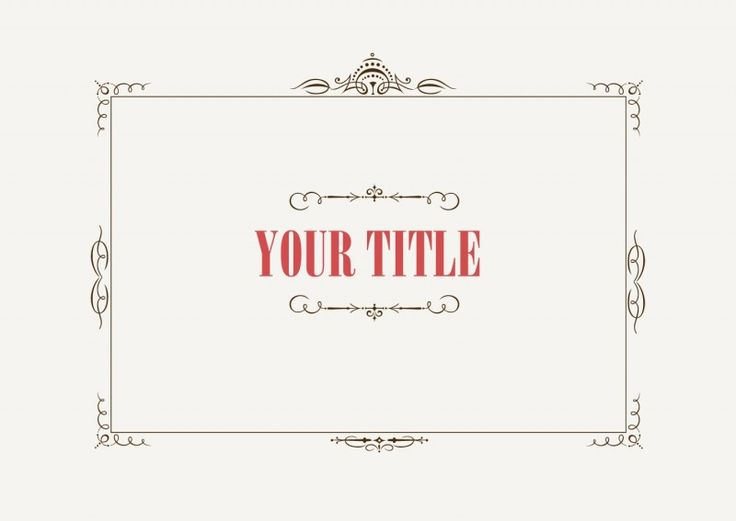 商用可!軽やかなアールデコ調のヴィンテージ装飾つめあわせ(ベクター・EPS) - Free-Style