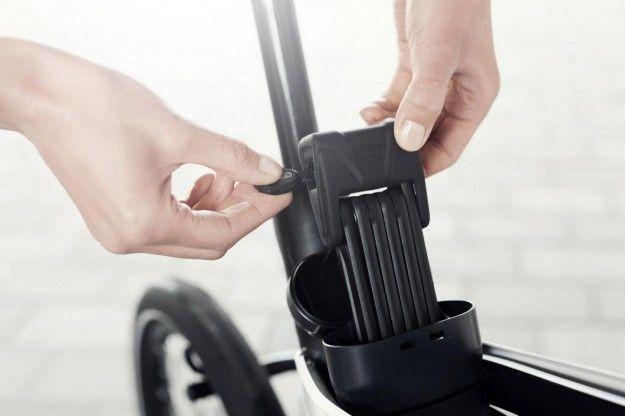 AE21 blocco - Il blocco della bicicletta AE21 di Peugeot Design Lab