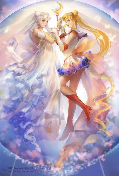 美少女戦士Sailor Moon20周年を記念 by: Moonlight awesome art!!!!