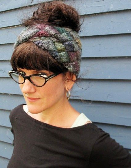 Entrelac Headband Free Knitting Pattern                                                                                                                                                                                 More                                                                                                                                                                                 More
