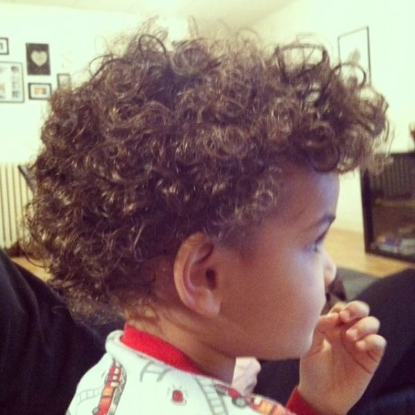 14 Tips For Styling Curly Hair Curly Baby Boy
