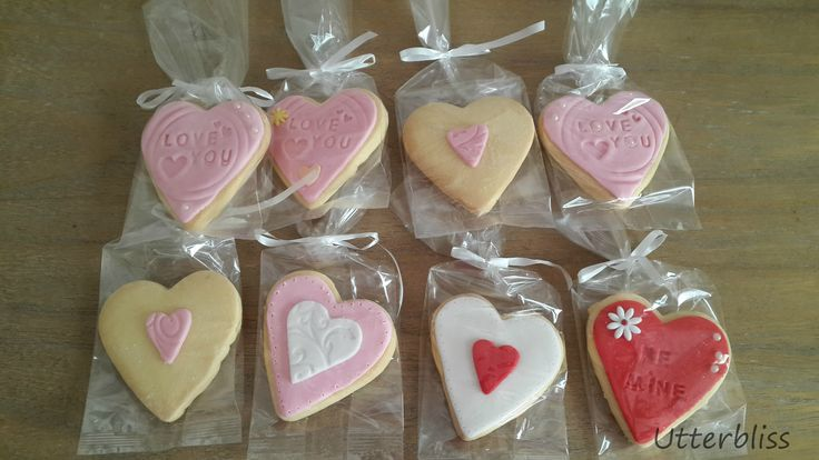 Valentines day biscuits.