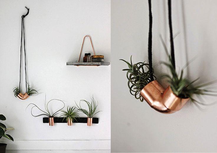 DIY: maak je eigen hangplantje voor thuis - INTERIOR JUNKIE