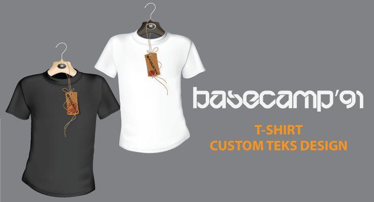 T-Shirt Custom BaseCamp'91