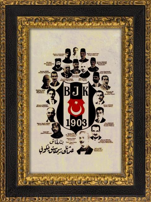 Osmanı Dönemi Beşiktaş Kurucuları Fotoğrafları özel Baskı
