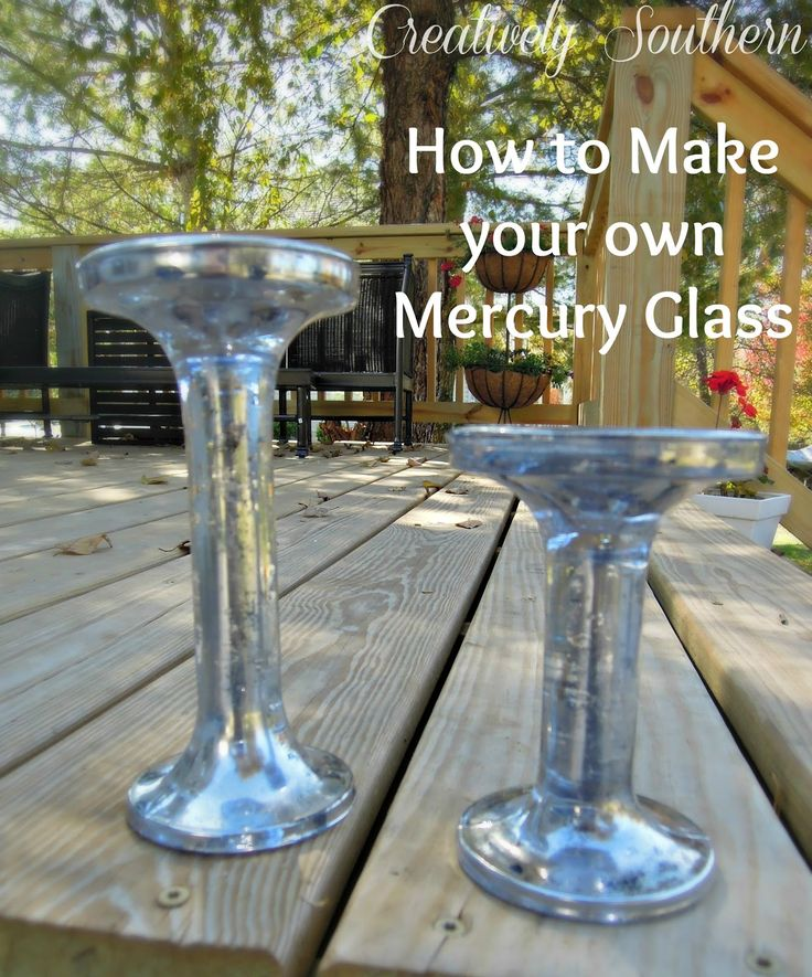 Happy Monday! I've got to share with you another little crafty project I did this weekend. I made my own mercury glass candlesticks! Okay, I realize that I am probably like the LAST person to…