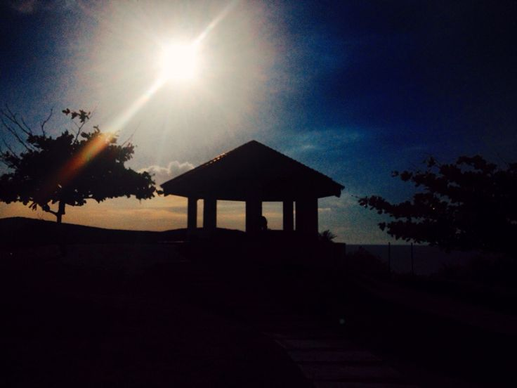 I find peace in sunsets. #puntafuego #sunset
