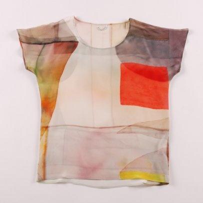 Von Sono Shortsleeve T Shirt - Lightbox Print from The Goodhood Store.