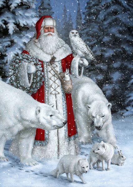 <3 Santa Claus~By: Elizabeth Goodrick-Dillon! <3