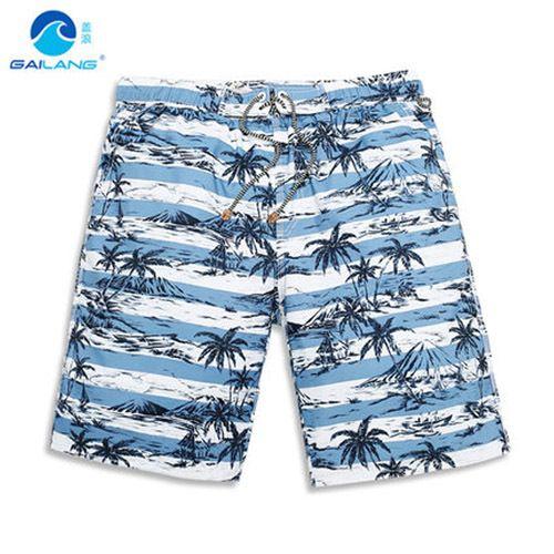 Мужские шорты полиэстер мужская летом пляж для серфинга шорты плавать спорт купальники мужчины Boardshorts быстрые сухие бермуды бренд шорты свободного покроя