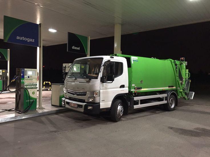 NTM KMidi Fuso Canter mała śmieciarka na podwoziu 8,5 DMC, small refuse truck, klein Kommunalfahrzeuge, Benne a ordures, Recolectores, piccoli camion, smidiga renhållningsbil