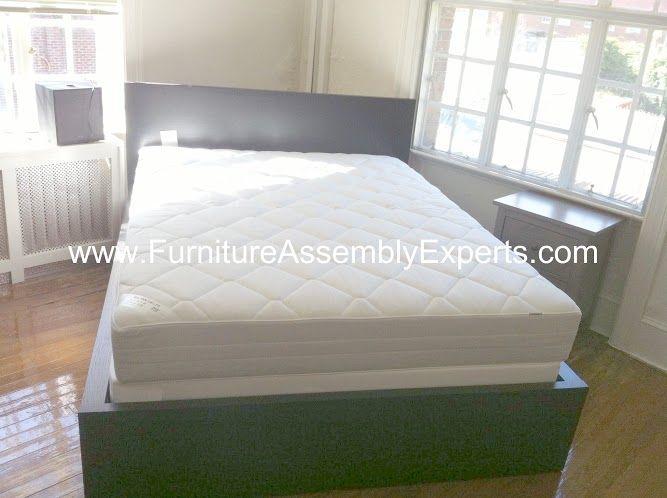 Ikea Malm Desk Assembled In Kensington Md By Furniture Assembly Experts Llc Ikea Furniture