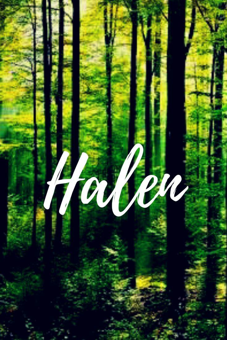 Halen. Swedish baby boy name meaning Hall