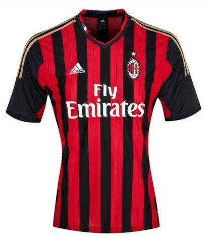 AC Milan magliette da calcio 2014 - Home