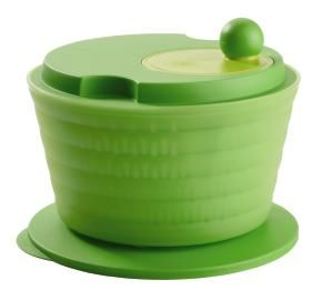 This is great for your salad and so much more.  Use it to dry your veggies and fruits before putting them in the Fridgesmarts, so they will last longer. Tupperware | Spin 'N Save(r) Salad Spinner